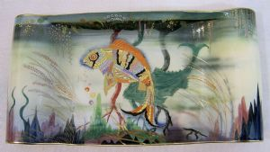 Carlton Ware Shabunkin/River Fish Oblong Tray - SOLD